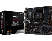 MSI B450M PRO-VDH PLUS AM4 mATX дънна платка