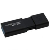 KINGSTON DataTraveler 100 G3 USB 3.0 32GB USB памет черен