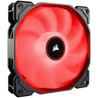Corsair AF140 LED Low Noise Cooling  Fan вентилатор червен