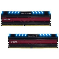 TEAM GROUP DELTA BLUE DDR4 16GB (2X8GB) 3000MHZ Памет