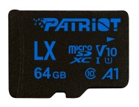 Patriot LX Series 64GB Micro SDXC V10 карта памет