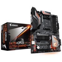 Gigabyte X470 Aorus Ultra Gaming AM4 ATX дънна платка