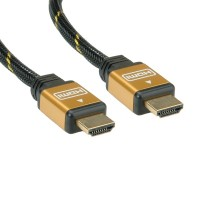 HDMI M към HDMI M High Speed Ethernet кабел gold 10 метра
