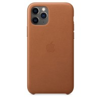 Apple iPhone Pro Max Leather Case калъф кафяв