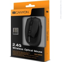 Мишка CANYON Mouse CNS-CMSW5 черен