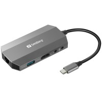 Sandberg SNB-136-33 USB-C Travel докинг станция