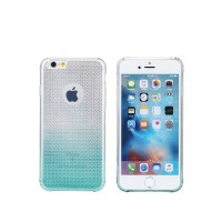 Протектор за iPhone 6/6S Plus, Remax Bright Gradient, TPU, Slim, Син