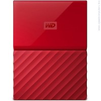 "Western Digital My Passport 1TB 2.5"" USB 3.0 червен външен диск"