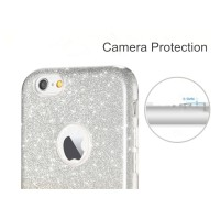 Протектор за iPhone 6/6S Plus, Remax Glitter Charming, TPU, Slim, Сив