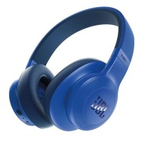 JBL E55BT Bluetooth слушалки сини