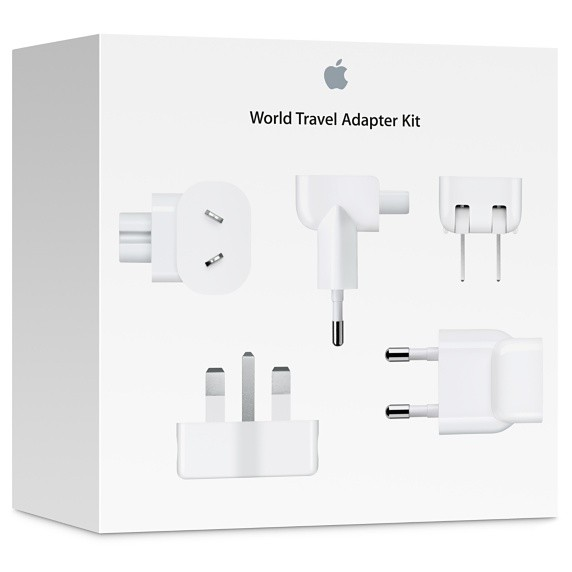 Apple World Travel Adapter Kit артикул MD837ZM/A