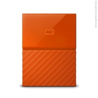 "Western Digital My Passport 1TB 2.5"" USB 3.0 Orange външен диск"