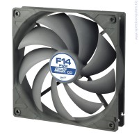 Arctic Fan F14 PWM PST CO - 140mm до 1350rpm вентилатор