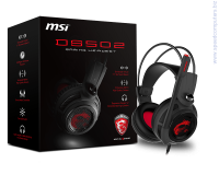 MSI DS502 GAMING Headset Слушалки