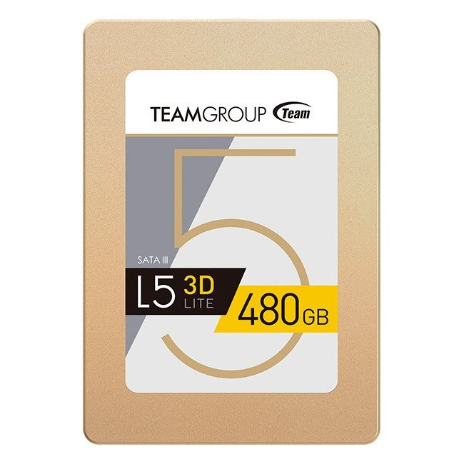 "Team Group L5 Lite 3D 2.5"" 480GB SATA3 SSD артикул T253TD480G3C101"
